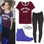 Becky G: 'Who Needs Sleep' Tee