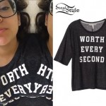 Bethany Mota: 'Worth Every Second' Tee