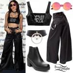 Charli XCX: VFiles Bra, Parachute Pants