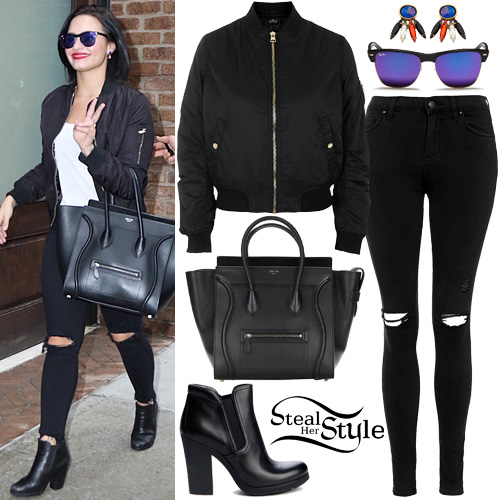 Demi Lovato seen returning from the Highline Ballroom in New York. September 29th, 2015 - photo: PacificCoastNews