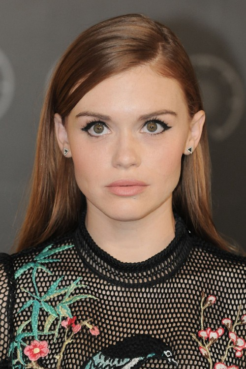 Holland Roden Straight Medium Brown Hairstyle Steal Her