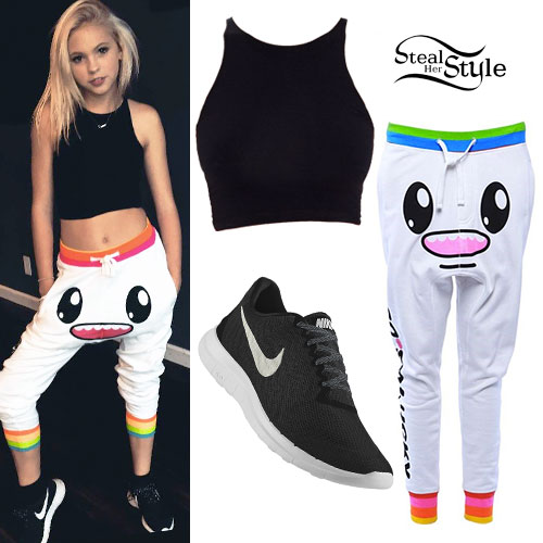 Jordyn Jones: Cartoon Face Joggers