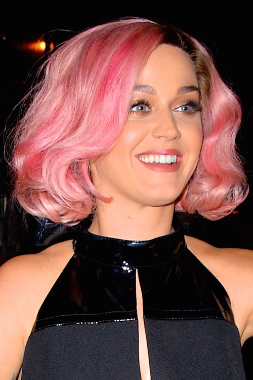 Gallery For > Katy Perry Pink Hairstyles Katy Perry