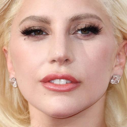 Lady Gaga Makeup: Black Eyeshadow, Brown Eyeshadow Eyeshadow u0026 Peach ...