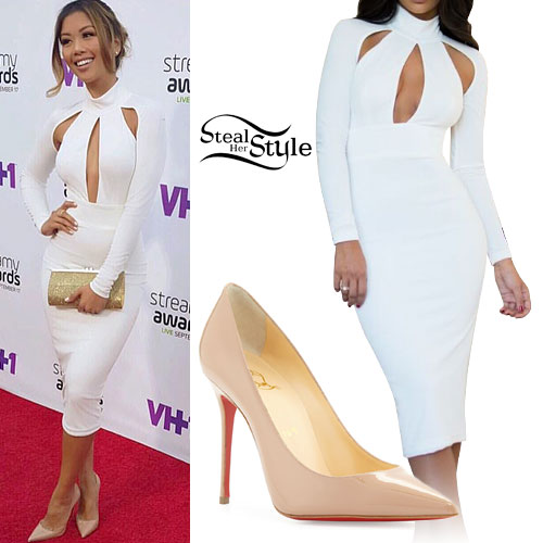 Liane V: White Cutout Dress