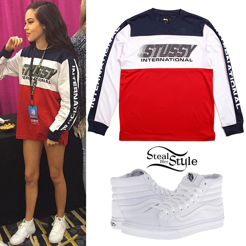 Maggie Lindemann: Colorblock Long Sleeve