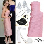 Maisie Williams: 2015 Emmy Awards Outfit