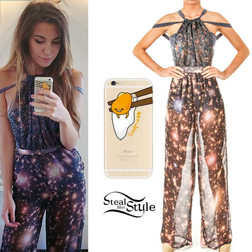 Marzia Bisognin: Galaxy Print Jumpsuit