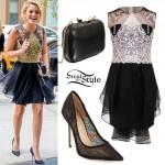 Olivia Holt: Tulle Dress, Lace Pumps