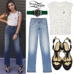 Rowan Blanchard: Wide-Leg Jeans