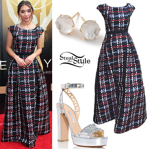 Rowan Blanchard: 2015 Emmy Awards Outfit