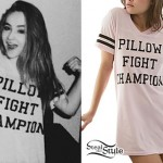 Sabrina Carpenter: 'Pillow Fight Champion' Tee