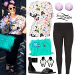 Tess Holliday: Dessert Tee, Furry Bag