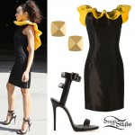 Tinashe: Measuring Tape Dress