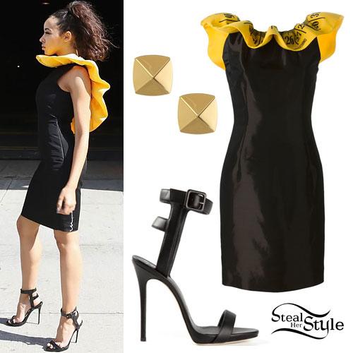 Tinashe: Measuring Tape Dress