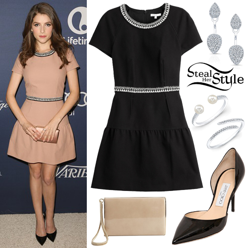 Anna Kendrick at the 7th Annual Variety's Power of Women Luncheon in Beverly Hills. October 9th, 2015 - photo: PRPhotos