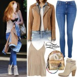 Bella Thorne out and about in Vancouver, Canada. October 23th, 2015 - photo: FameFlynet