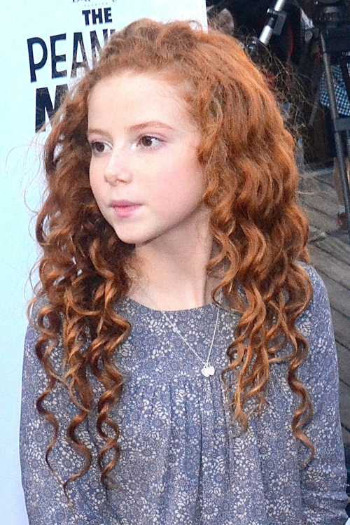 Francesca Capaldi Curly Ginger Barrel Curls Bobby Pins