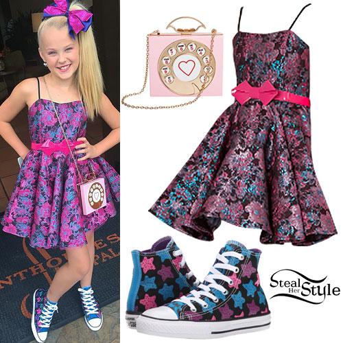 JoJo Siwa: Floral Dress, Star Sneakers