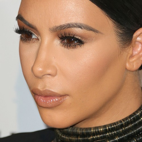 Kim Kardashian Makeup Brown Eyeshadow Gold Eyeshadow