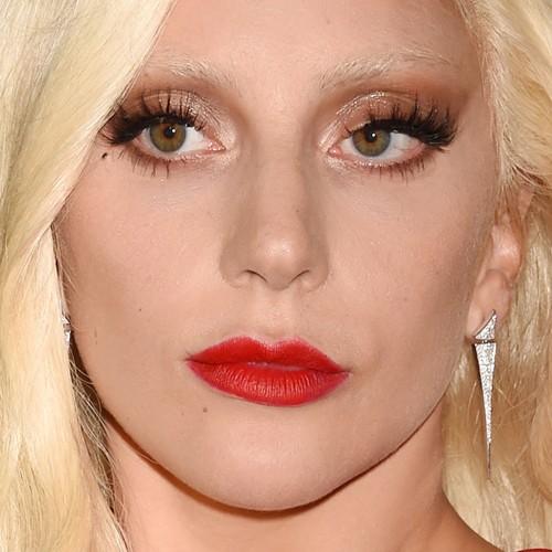 Lady Gaga Makeup: Brown Eyeshadow Gold Eyeshadow - Lady Gaga Makeup