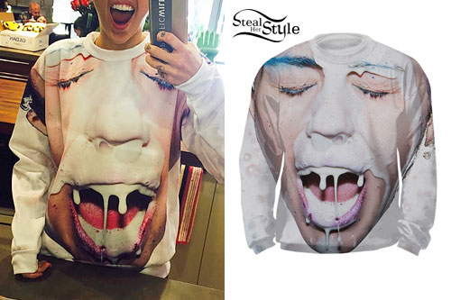 Miley Cyrus: Milk Sweatshirt