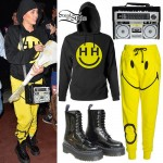 Miley Cyrus: Boombox Bag, Smiley Joggers