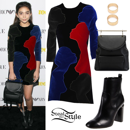 Rowan Blanchard  at the  Teen Vogue Young Hollywood Issue Launch in Beverly Hills. October 2nd, 2015 - photo: AKM-GSI