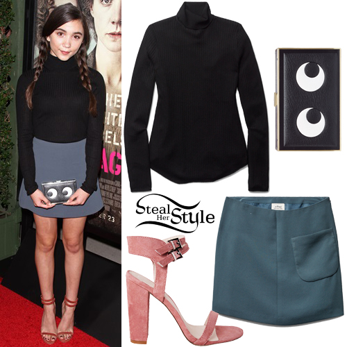 Rowan Blanchard attends the premiere of 'Suffragette' in Los Angeles. October 20th, 2015 - photo: PacificCoastNews