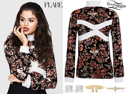 Selena Gomez for Flare Magazine
