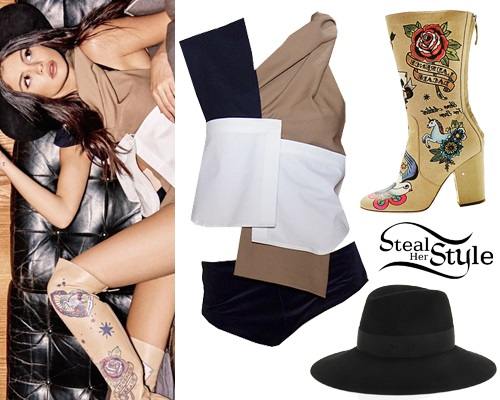 Selena Gomez for Grazia Magazine