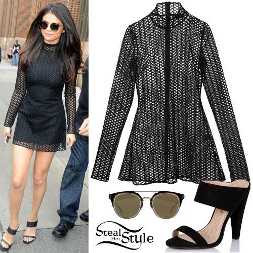 Selena Gomez leaving New York City radio station Z100. October 13th, 2015 - photo: FameFlynet