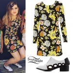 Sydney Sierota: Retro Floral Dress