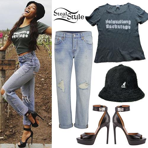 Tinashe: Furry Hat, Backstage Tee