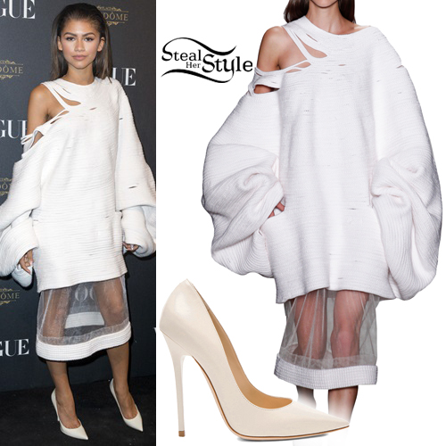 Zendaya at the Vogue 95th Anniversary Party. October 3rd, 2015 - photo: FameFlynet