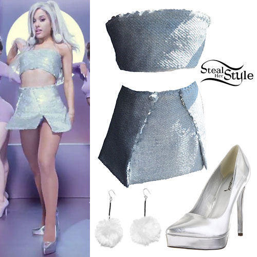Ariana Grande: 'Focus' Music Video Outfits | Steal Her Style