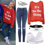 Jordyn Jones: 'It's The Real Thing' Sweatshirt