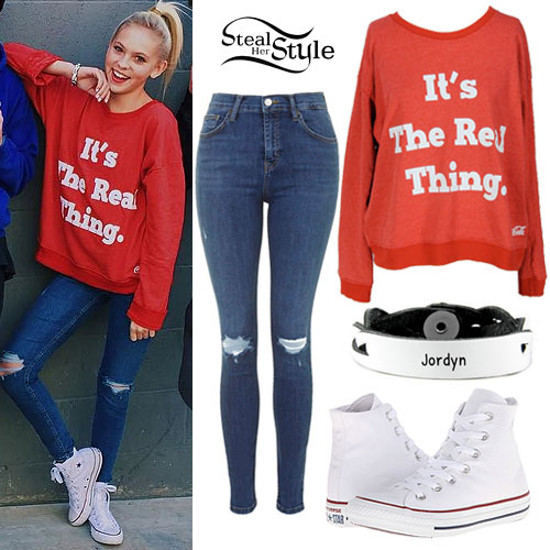 Jordyn Jones: 'It's The Real Thing' Sweatshirt