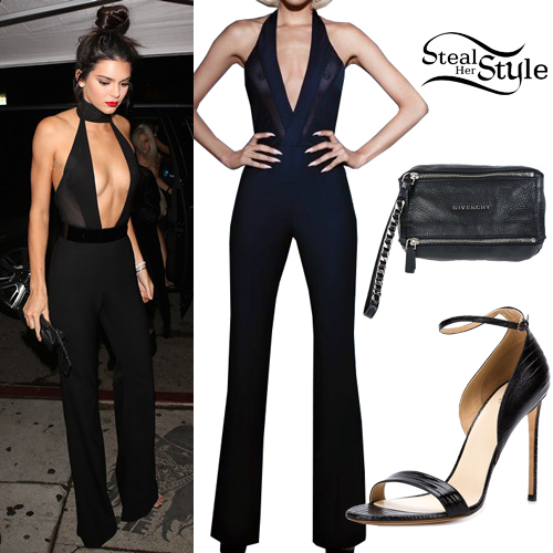 Kendall Jenner arriving at Craig's Restaurant for her 20th Birthday Party. November 2nd, 2015 - photo: DEBY/AKM-GSI