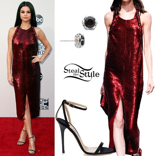 Selena Gomez at the 2015 American Music Awards. November 22th, 2015 - photo: MPNC/AKM-GSI