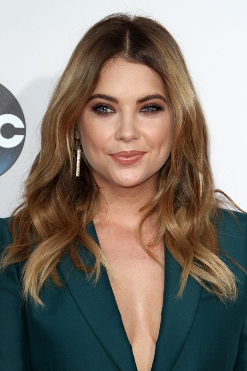 ashley bensons hairstyles amp hair colors steal her style
