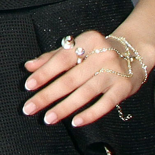 Camila Cabello Clear White French Manicure Nails Steal Her Style