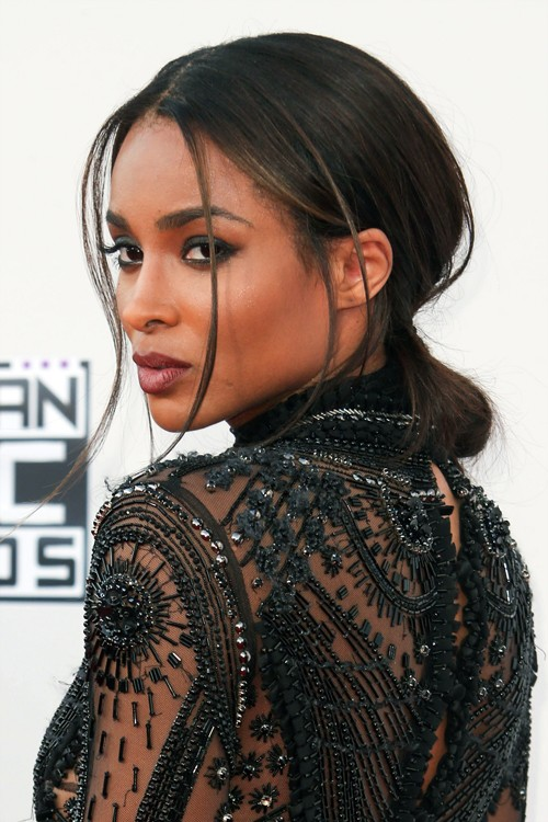 11/22/2015 - Ciara - 2015 American Music Awards - Arrivals - Microsoft Theater - Los Angeles, CA, USA - Keywords: Vertical, California, Arts Culture and Entertainment, Celebrities, Celebrity, Person, People, Red Carpet Arrival, Topix, Bestof, Portrait, Photography, Photograph, 2015 AMA Orientation: Portrait Face Count: 1 - False - Photo Credit: PRPhotos.com - Contact (1-866-551-7827) - Portrait Face Count: 1