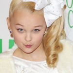 """11/29/2015 - JoJo Siwa - 84th Annual Hollywood Christmas Parade """"The Magic of Christmas"""" - Hollywood Boulevard - Hollywood, CA, USA - Keywords: Vertical, Portrait, Photography, Arts Culture and Entertainment, Attending, People, Person, Celebrities, Celebrity, Los Angeles, California Orientation: Portrait Face Count: 1 - False - Photo Credit: Guillermo Proano / PR Photos - Contact (1-866-551-7827) - Portrait Face Count: 1"""