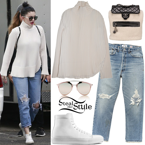 Kylie Jenner: VFiles Maroon Hoodie | Steal Her Style