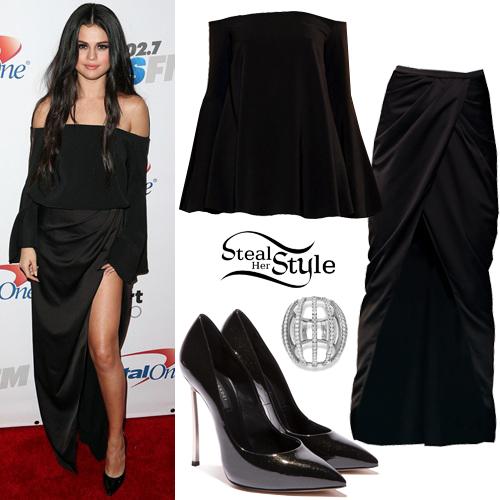 Selena Gomez at the 102.7 KIIS FM's Jingle Ball. December 4th, 2015 - photo: PRPhotos