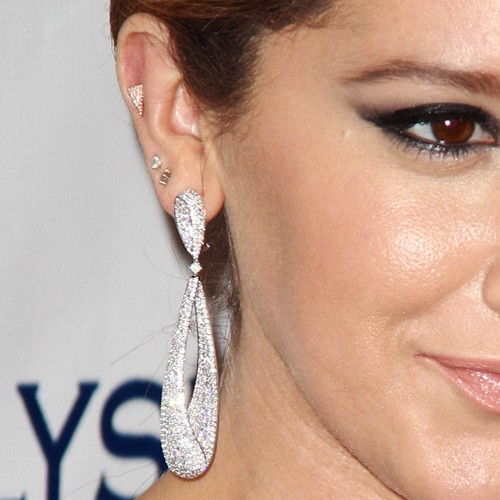 The gallery for --> Selena Gomez Ear Piercings