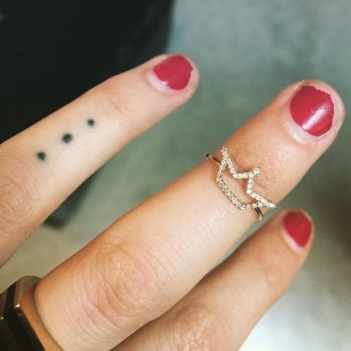 3 Dot Tattoo: Behati Prinsloo's 4 Tattoos & Meanings