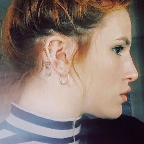bella thorne 39 s tattoos meanings steal her style