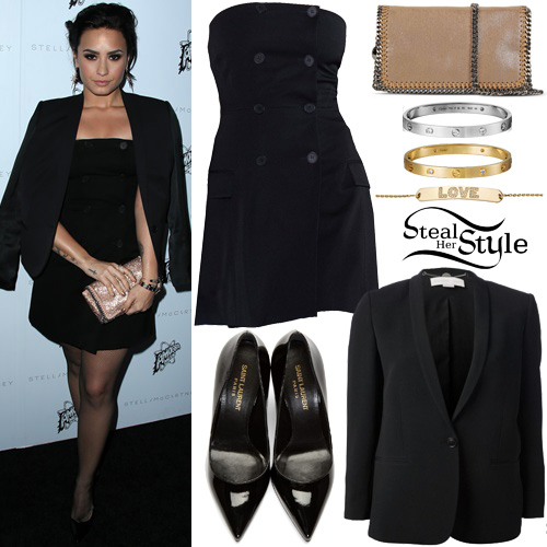 demi lovato style clothes - photo #5